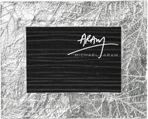 """Рамка для фото  Michael Aram """"Лесные листья""""  (13х18 см) серебряная"""