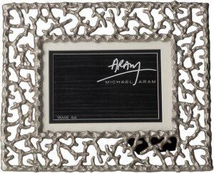 "Рамка для фото  Michael Aram ""Коралловый риф""  (10х15 см) серебряная"