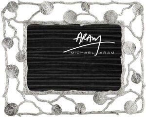 "Рамка для фото  Michael Aram ""Ботаника""  (13х18 см) серебряная"
