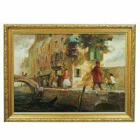 """Картина  Art Atelier """"Улица Венеции""""  Contarin"""