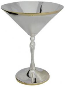 Бокал серебряный для мартини №33 Мстерский Ювелир