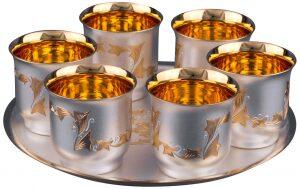 Серебряный винный набор №47 Мстерский Ювелир