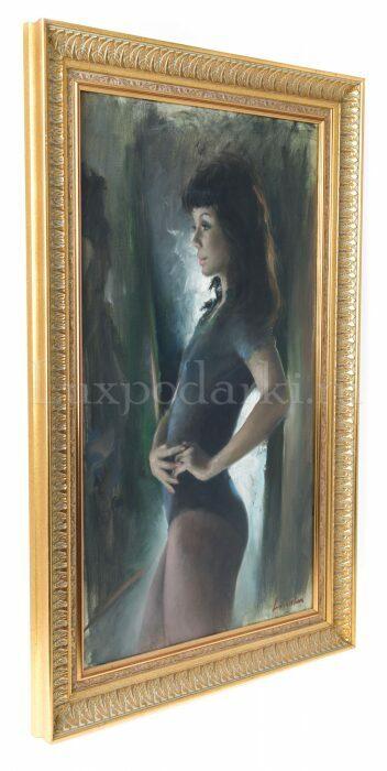 """Картина  Art Atelier """"Девушка""""  L. Da Velasca- 1"""