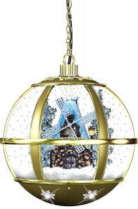 "Музыкальная игрушка  Mister Christmas Collection ""Снежный шар"""