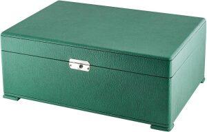 """Шкатулка для 6-ти часов и украшений  Rivoli """"Favorite""""  зелёный"""