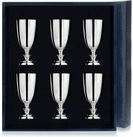 Набор рюмок для водки из серебра №1 на 6 персон Аргента