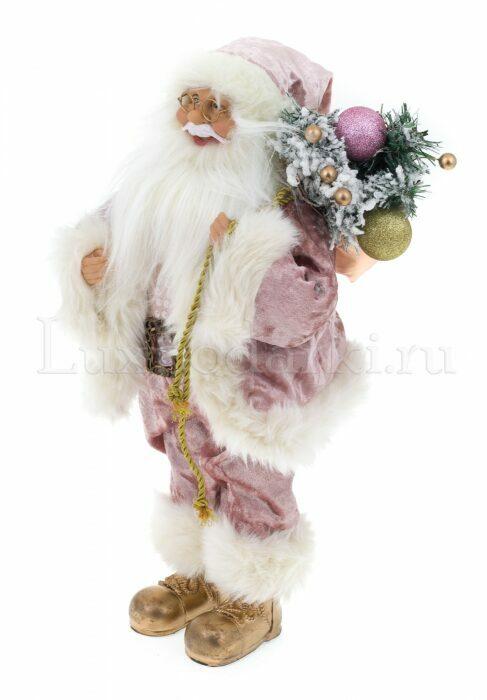 """Декоративная кукла """"Санта с мешком подарков""""- 1"""