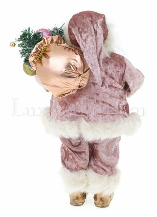 """Декоративная кукла """"Санта с мешком подарков""""- 2"""