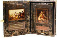 """Книга в кожаном переплете """"Наполеон Бонапарт. Путь к империи"""" (в коробе)"""
