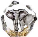 """Скльптура """"Слон"""", серая"""