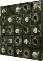 """Объёмное панно из стекла """"Мозаика"""""""