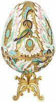 """Яйцо-шкатулка  Русские самоцветы """"Большое яйцо"""""""