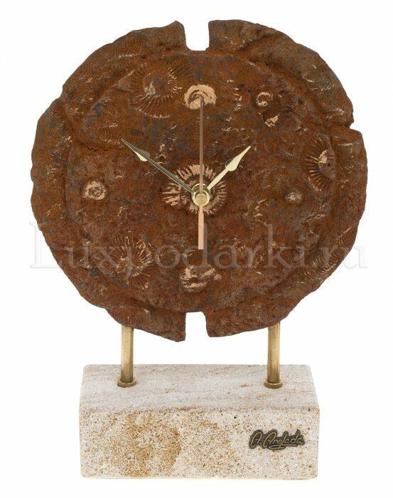 """Часы круглые  Anglada """"Ископаемые"""" - 0"""