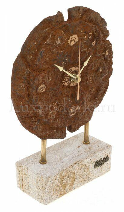 """Часы круглые  Anglada """"Ископаемые"""" - 1"""