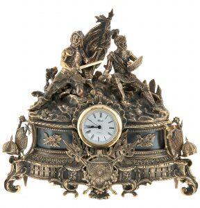 """Каминные часы """"Гладиаторы"""""""