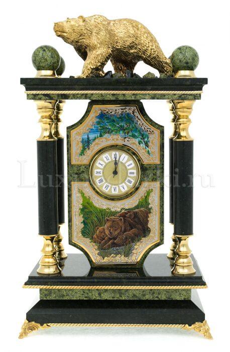 """Часы каминные """"Медведь""""- 0"""