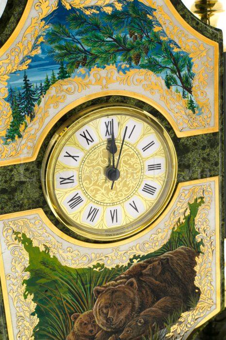 """Часы каминные """"Медведь""""- 5"""