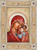 Казанская икона Божией Матери (финифть)