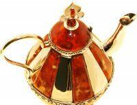 """Чайник из янтаря """"Восточная сказка"""""""