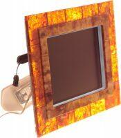 Фоторамка цифровая из янтаря