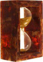 Сувенирные песочные часы из янтаря 5 минут