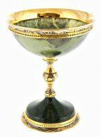 Кубок-ваза из нефрита