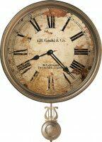 "Настенные часы  Howard Miller ""J.H Gould and CO"""