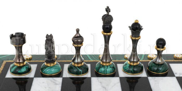 "Шахматы из малахита ""Классические""- 1"