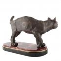 "Скульптура бронзовая ""Кошка""- 2"