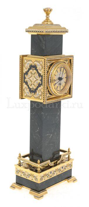"Каминные часы из камня ""Биг-Бен""- 1"