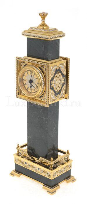 "Каминные часы из камня ""Биг-Бен""- 2"