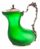 "Кувшин в форме ""аска"" (зеленый)"