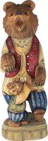 """Резная статуэтка """"Два медведя"""""""