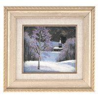 """Картина """"Зима"""" на лабрадорите"""