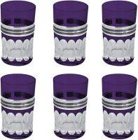 Набор для виски (6 бокалов), цвет: фиолетовый Linea Argenti