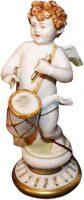 """Статуэтка  Porcellane Principe """"Ангел с барабаном"""""""
