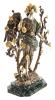 """Авторская скульптура из бронзы  Братья Озюменко """"Райский сад"""" - 3"""