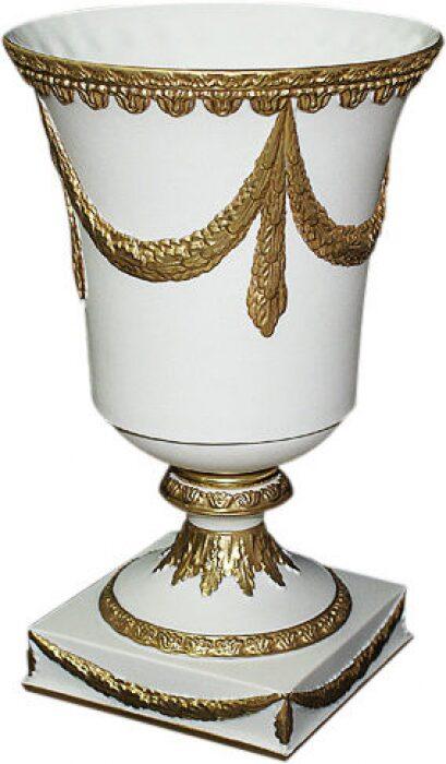 Кубок, цвет: белый матовый, с золотой матовой отделкой Cattin- 0