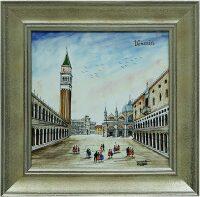 """Картина  Millennio """"Piazzetta San-Marco""""  с рамкой"""