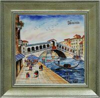 """Картина  Millennio """"Ponte Rialto""""  с рамкой"""