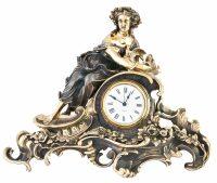 "Каминные часы ""Флора"""