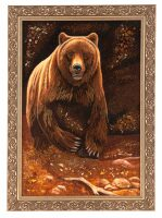 "Картина из янтаря ""Хозяин леса"""