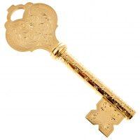 """Ключ подарочный """"Ключ от сердца"""" (Златоуст)"""