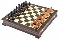 """Шахматы """"Непобедимые"""" венге"""
