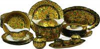 Сервиз столовый (35 предметов) хохлома