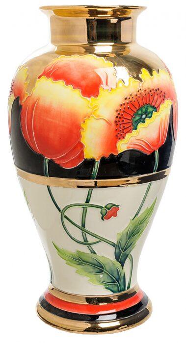 """Фарфоровая ваза  Pavone """"Цветы"""" - 0"""