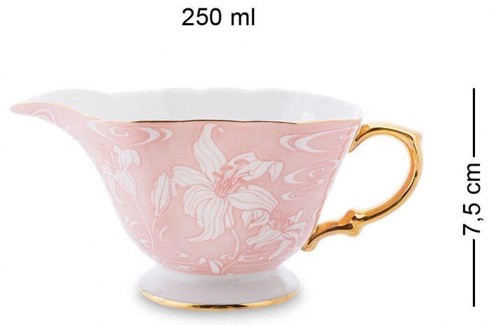"""Чайный сервиз  Pavone """"Фиоре Дорато""""  на 6 персон (15 предметов)- 2"""