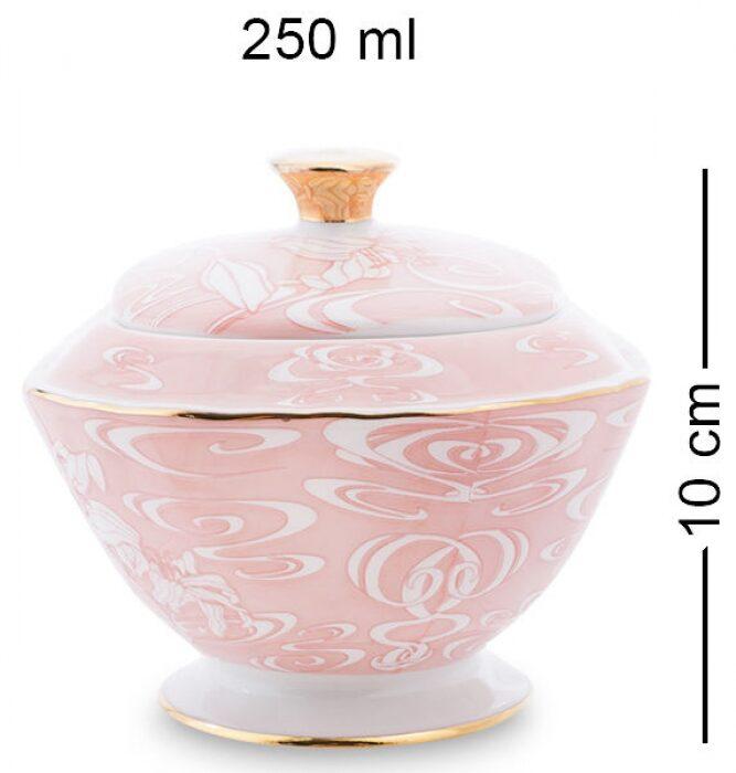 """Чайный сервиз  Pavone """"Фиоре Дорато""""  на 6 персон (15 предметов)- 6"""