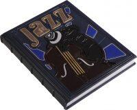 """Книга в кожаном переплете """"Джаз"""""""