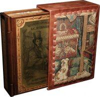 "Книга в переплете из дерева ""А.С. Пушкин. Избранное"" (в футляре)"
